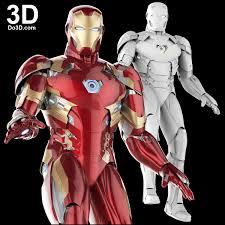 3d printable suit iron man mark xlvi xlvii armor model mk 46