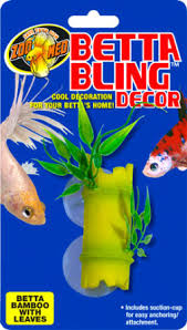 Betta Fish Vase With Bamboo Betta Products Zoo Med Laboratories Inc