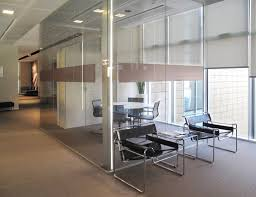 chic office ideas wooden glass partition office office wood
