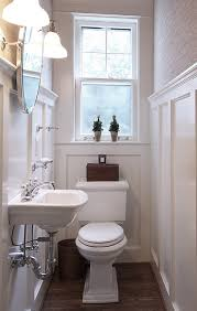 Narrow Powder Room - tiny powder room traditional powder room dc metro by nvs