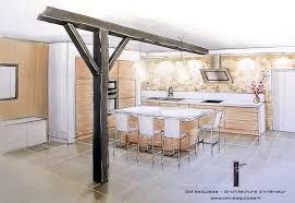 etude de cuisine réalisations réaménagement complet d un salon salle à manger