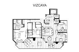 Vizcaya Floor Plan Jackson Tower Las Olas Floor Plans