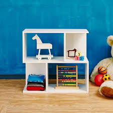 Modern Kids Bookshelf White Modern 2 Shelf Bookcase Formaldehyde Free Way Basics