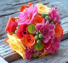 wedding flowers bouquet beautiful colorful wedding bouquets weddings
