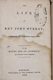 1833 antique religious book life of reverend john murray