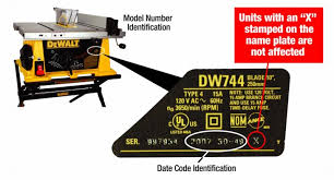 best black friday deals on dewalt table saws dewalt recalls table saws due to laceration hazard cpsc gov