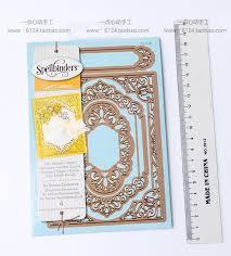 Cutting Dies For Card Making - spellbinders cutting die vintage frame s5 218 4pcs card making