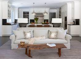 open floor plan family room u0026 kitchen in atherton ca interior