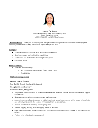 example of a resume summary statement cover letter how to write an objective for a resume how to write cover letter a great objective for a resume objectives resumes template sample college studenthow to write