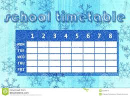 winter timetable royalty free stock images image 36245579