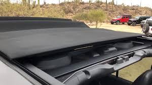 jeep open top watch the 2018 jeep wrangler u0027s powertop top in action u2013 move ten