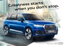 Audi Q7 2015 - audi q7 campaign 2014 print on behance