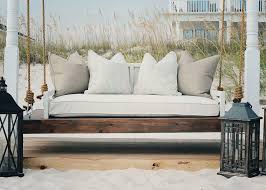 outdoor bed swing cushions