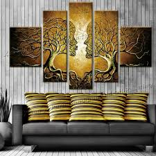 tree of life home decor handpainted wall art home decoration tree of life pictures modern