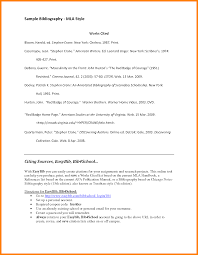 6 sample bibliography for mla style buyer resume