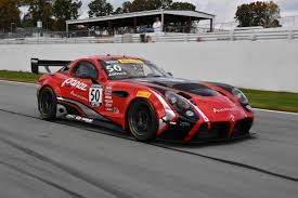 panoz announces season gt class racing car