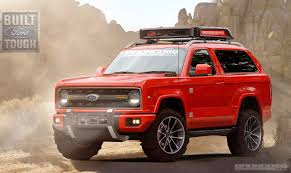 concept work truck 2020 ford bronco concept rendering 2020 2021 ford bronco forum