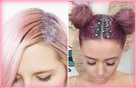 2016 hair and fashion hair trend glitter roots youtube
