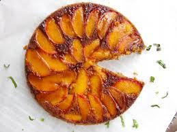nectarine upside down cake yup it u0027s vegan