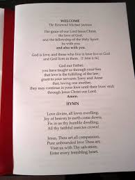 vow renewal wording ruby wedding anniversary vow renewal order of service booklet