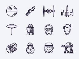 star wars free icons oleg levin dribbble