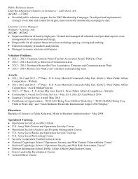 public relations manager resume public relations internship resume sample contegri com