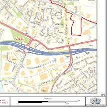 Map Of Glasgow Scotland Glasgow City Centre Postcode Sector Map C5 Gif Image Xyz Maps