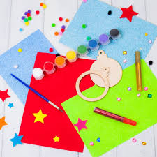 personalised make your own christmas bauble craft kit by british