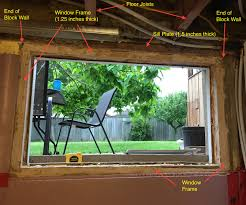 Window Technology Is This Basement Window Frame Structural Home Improvement Stack