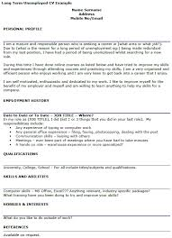 unemployed cover letter the letter sample
