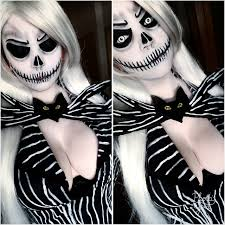 Jack Skellington Costume Genderbend Jack Skellington Costume And Makeup By Me Cosplaygirls