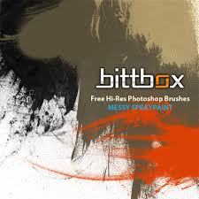 Photoshop Spray Paint - free hi res photoshop brushes messy spraypaint bittbox