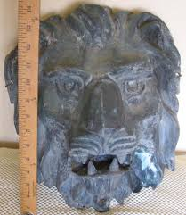 antique architectural copper lion large sold on ruby lane