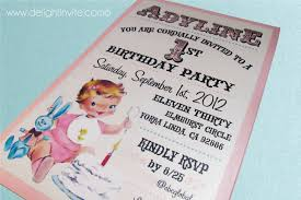 girls birthday invitations custom invitations and announcements