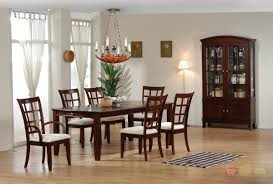modern rustic dining with solid wood dining table dining room