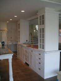 Traditional Double Sided Kitchen I U0027m A Big Fan Of Double Sided Glass Cabinets A Custom Hutch