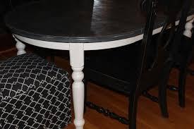 Painted Kitchen Tables Chalk Paint Kitchen Table