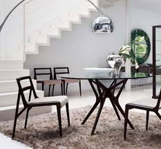 Modern Round Glass Dining Tables N Intended Design - Modern round dining room table
