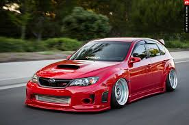 bagged subaru wagon big turbo u002709 subaru sti hatchback from royal origin