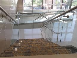 modern indoor aluminum railings can be decor with granite floor