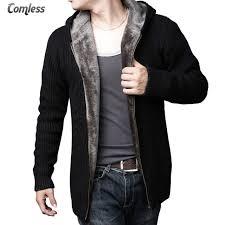 high sweaters cardigan masculino 2017 winter warm sweater wool