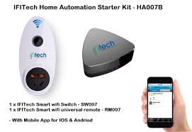 home automation starter kit with mobile app