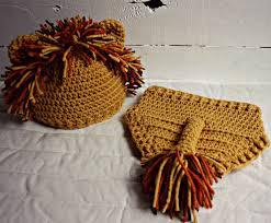 Baby Lion Costume Crochet Lion Baby Photo Prop Set Crochet Lion Hat Baby Lion