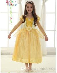 princess belle costume beauty beast costume kid belle
