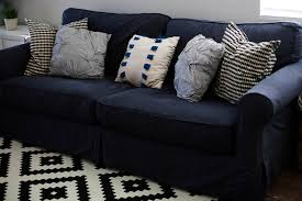 No Sew Slipcover For Sofa by How To Dye A Sofa Slipcover
