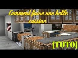 cuisine minecraft tuto minecraft comment faire une cuisine