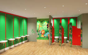 Restroom Design Junior Toilet Design Fun Bright Approachable And