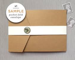 pocket fold envelopes pocket fold envelope etsy
