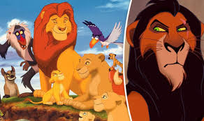 lion king shock mufasa scar brothers films