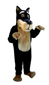 halloween mascot costumes cheap buy pinscher mascot doberman dog costume mask us t0094 from